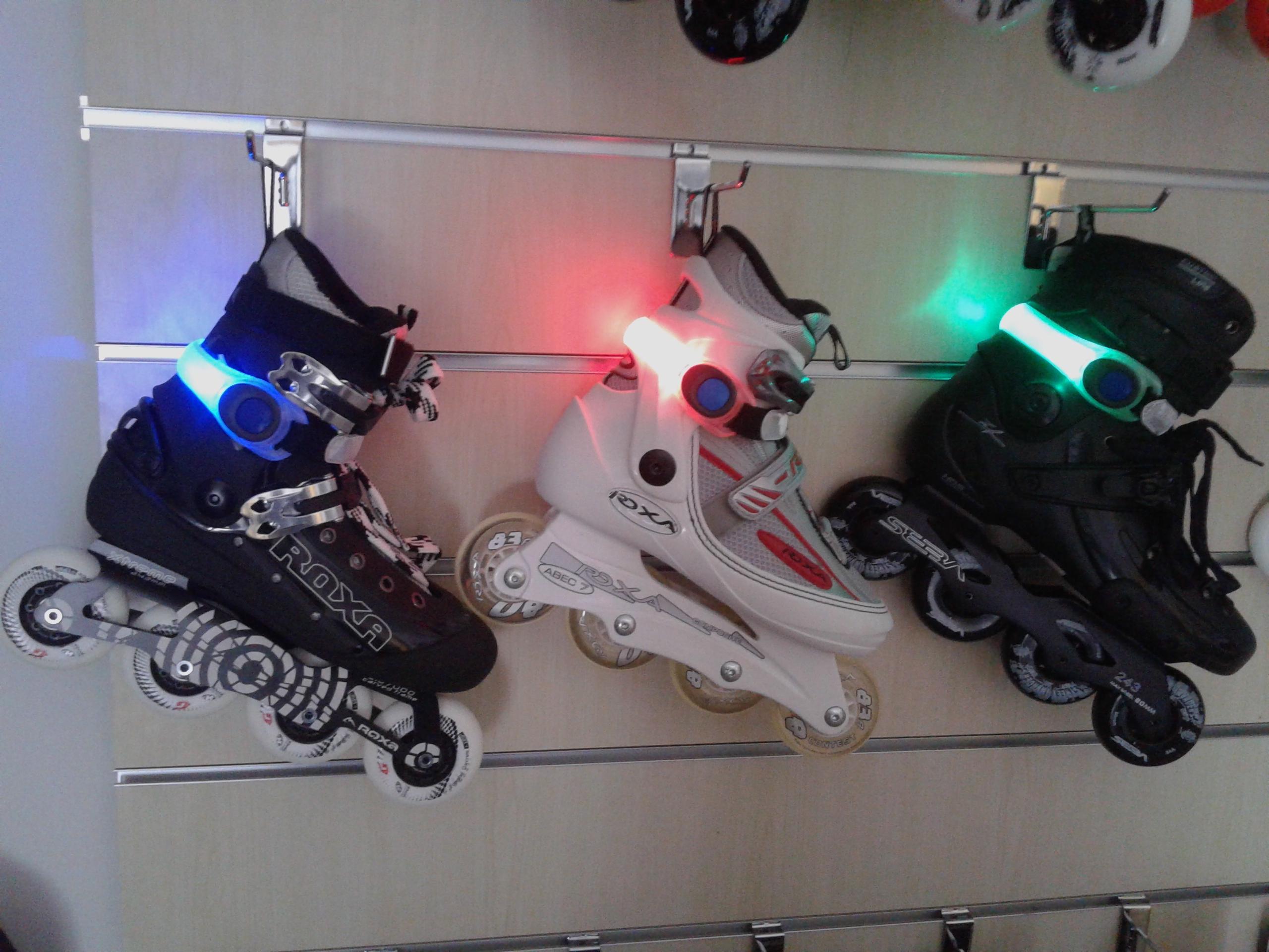 luces para patines | tienda de patines, longboards y patinetes en madrid
