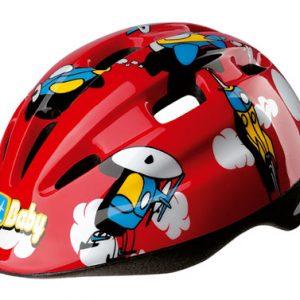 casco-roxa-niño-rojo