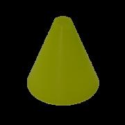cono-slalom-frestyle-fluorescente-patinaje-amarillo