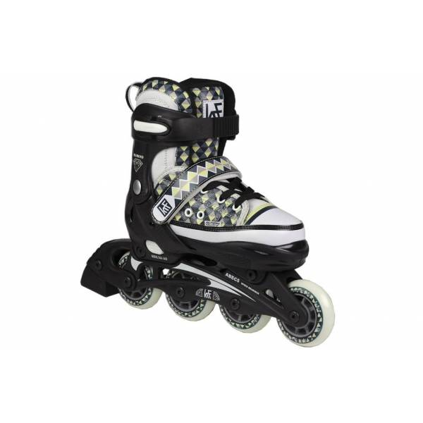 patines-extensibles-krf-canvas-diamond-verde