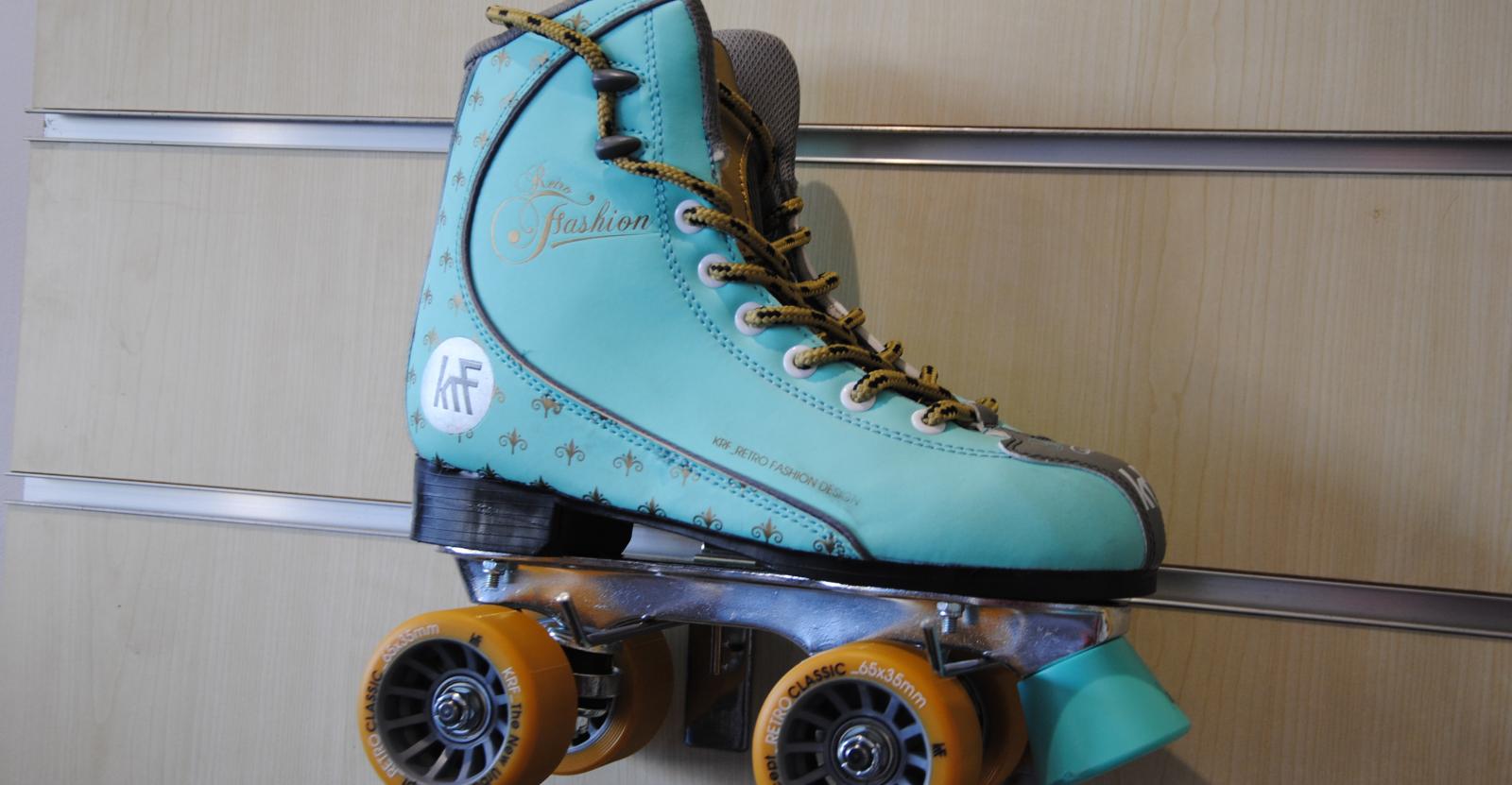 patines en línea y tradicionales