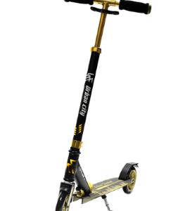 scooter-urban-city-negro-dorado