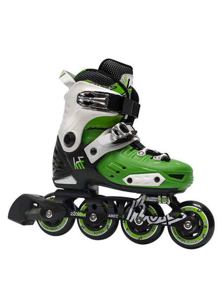 patin-freeskate-extensible-niño-krf-first-verde
