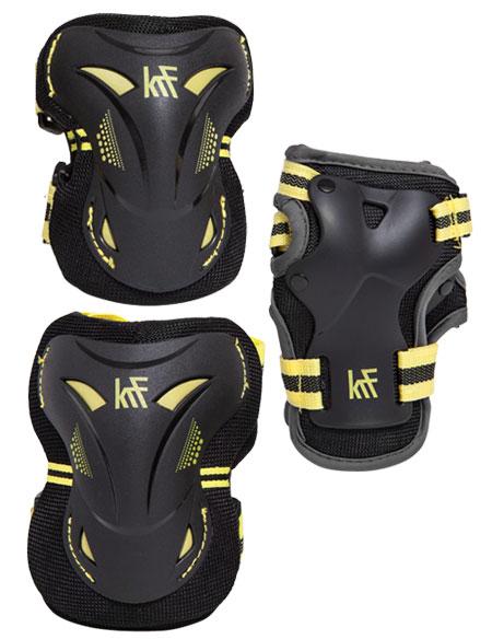 protecciones-patinaje-amarillas-krf