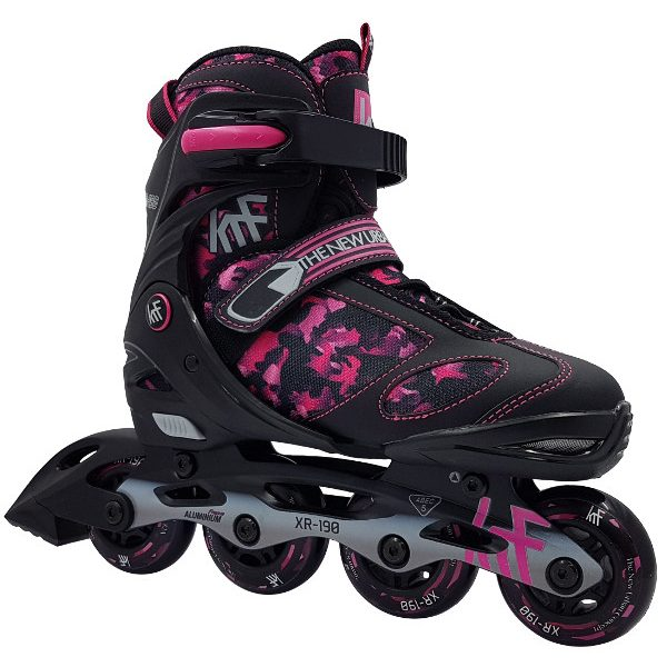 patines-krf-extensibles-camuflaje-rosa-fitness-niña
